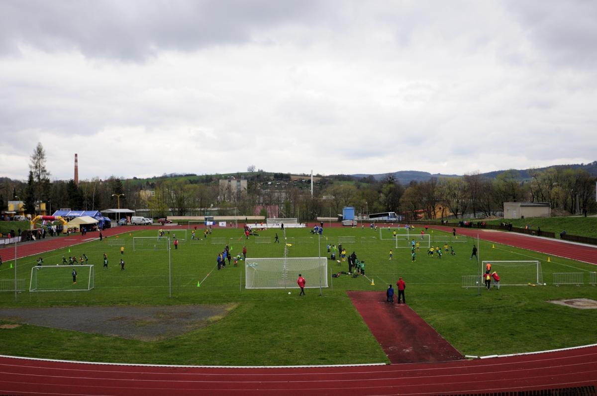 Valašské Meziříčí, arál sportoviště