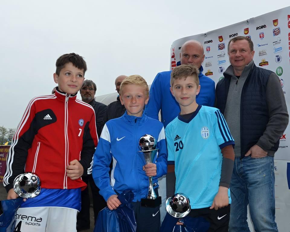 Nejlepší hráči turnaje Valmez Cup 2016